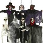 3-6FT Halloween Props Decorations Party Hanging Horror Scary Skeleton Ghost