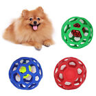 FT- Pet Dog Puppy Hollow Bell Tennis Ball Toy Chew Scratch Playing Training Mola