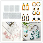 Diy Craft Earring Drop Dangle Resin Earring Mold, Jewelry Resin Silicone Molds