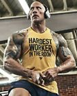 UNDER ARMOUR Project Rock Hardest Worker in the Room Tank SHIRT MEN choose size