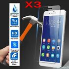For Huawei P Smart P9 P10 P20 P30 P40 Lite Tempered Glass Screen Protector 3Pcs