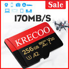 64GB 128GB 256GB Krecoo Ultra thin TF Card Class 10 4K 275MB/s TF Memory Card US