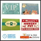 Pet Food Feeding Mat for Dog Cat Bowl Water Dish Placement Wipe Clean Placement