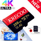 Universal 256GB Micro Memory Card 275MB/S 4K Class10 Flash TF Card With Adapter