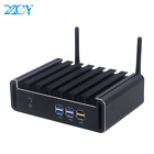 Xcy Fanless Mini Pc Intel Core I7 4500U I5 4200U I3 4010U Hdmi Vga 6Xusb Gigabit
