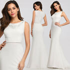 US Ever-Pretty Elegant Long Bridesmaid Dresses Mermaid Wedding Party Gowns 07804