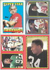 1988 Topps Football Sticker & Stickerback Variations Listing 1 of 3 You Pick!