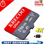 64GB 128GB 256GB Real Capacity Micro HC 10 Memory Card   IN USA with Adapter