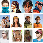 Unisex Neck Face Mask Tube Multi Colors Snood Bandanas Sport Scarves Outdoor Lot