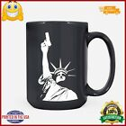 Go All Out Adult Statue of Liberty Holding Gun 2nd Amendment TShirt LM09_Mug 15