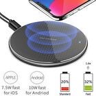 10W Qi Wireless Charger Fast Charging Pad Dock Mat For iPhone Samsung Google LG
