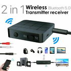 Bluetooth 5.0 Audio Transmitter Receiver Stereo Wireless HIFI Adapter RCA AUX