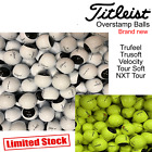 TITLEIST GOLF BALLS TITLEIST TRUFEEL TRUSOFT VELOCITY TOUR SOFT NEW *OVERSTAMPS*