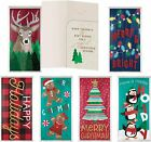 B-THERE 6 Pack Embellished Christmas Holiday Money Cash Gift Card Holders...