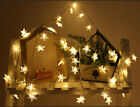 Halloween Decorations 20/40LED Star String Lights Party Home Fairy Prop Lamp