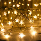 Halloween Decorations 20/40led Bat String Lights Party Home Fairy Prop Lamp