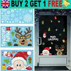 Christmas Wall Stickers Wall Window Glass Sticker Xmas Decals Home Decoration *