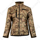 Verney Carron Hunting Camouflage Snake Softshell Waterproof Jacket Coat  -Forest