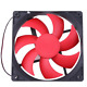 DC/12V PC/1500RPM Fan Silent Cooling Heat Sink Computer Case 2 Pin Wire Mini