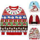 Couples Christmas Sweatshirt Mens Womens Pullover Casual Xmas Jumper Sweater New
