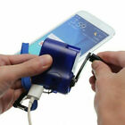 Edc Usb Phone Emergency Charger For Camping Hiking Hand Crank Survival Tool 67uk