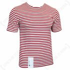 T Shirt Top Medium OMAN Red Stripe Russian Surplus Military Army A02129