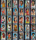 1976-77 Topps Basketball Cards Complete Your Set You U Pick From List 1-144