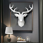 Home Decoration Accessories,3d Deer Head,statue,sculpture,wall Decorative Art