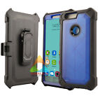 For ZTE Blade Z Max Sequoia ZMax Pro 2 Clip Screen Protector Rugged Case Cover