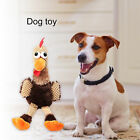CHICKEN SHAPE PET DOG PUPPY CHEWING TOY SOFT SQUEAKY SOUND PLUSH DOLL FILL