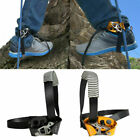 Left/Right Foot Ascender Riser Rock Climbing Tree Carving Safety Gear Equipment