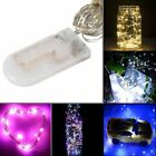 LED Battery Micro Rice Wire Copper Fairy String Lights Party Warm White / Blue@v