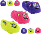 Monster Slippers Fun Novelty Cute Crazy Cosy Warm Fluffy Womens Girls