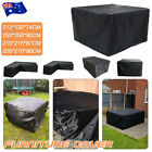 Waterproof L Shape &square Furniture Cover In-outdoor Garden Corner Sofa Protect