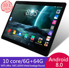 10.1 inch tablet 6GB RAM * 64GB ROM SIM Card 4G LTE Wifi Android 8.0 tablet