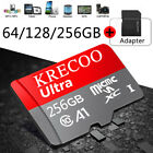 64GB/128GB/256GB Micro SD Memory Card Class10 Fast Flash TF for Camera  Phone