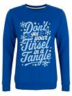 Sweater Tinsel In A Tangle Christmas Jumper Women's Royal Blue
