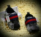 Baby Boys/ Girls Gucci Soft Bottom Crib Shoes, Perfect First Walkers