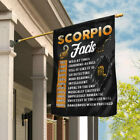 Scorpio Facts Flag DDH1426 Garden and House Flag