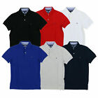 Tommy Hilfiger Mens Polo Shirt Slim Fit Casual Collared Top Flag Logo New Nwt