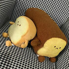 Pillow Bread Plush Toys Comfortable Polyester Cotton Material Sofa Cushions New
