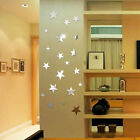 20x Star Art Mirror Wall Sticker Acrylic Surface Decal Home Room Diy Art Decor T