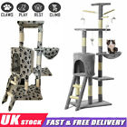 Cat Tree Activity Centre Scratcher Tower Post Kitten Play Toy Sisal Bed Kitten