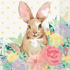 Pioneer Woman Spring Easter Bunny Floral Paper Plates Napkins Table Cover