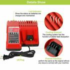 For Milwaukee M18 Lithium XC 6.0 AH Extended Capacity Battery/Charger 48-11-1852