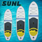 SunL Inflatable Stand Up Paddleboard SUP Paddle Board w/Storage Case Pump