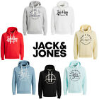 Jack & Jones Hoodie Mens Chest Logo Print Hooded Long Sleeve Sweatshirt Sweater