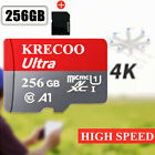 64GB/128GB/256GB Micro Memory SD Card 325MB/S Fast TF Card Class10 with Adapter
