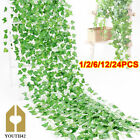 6X Artificial Ivy Trailing Vine Fake Foliage Flower Hanging Leaf Garland Plant