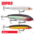 Rapala Skitter V Lures - Bass Wrasse Pike Surface Topwater Sea Fishing Tackle